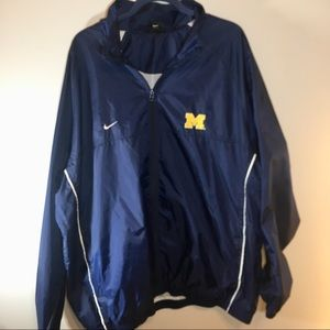 Nike Michigan Wolverines Windbreaker